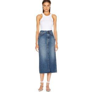 Totême Bitti Denim Midi Skirt Medium